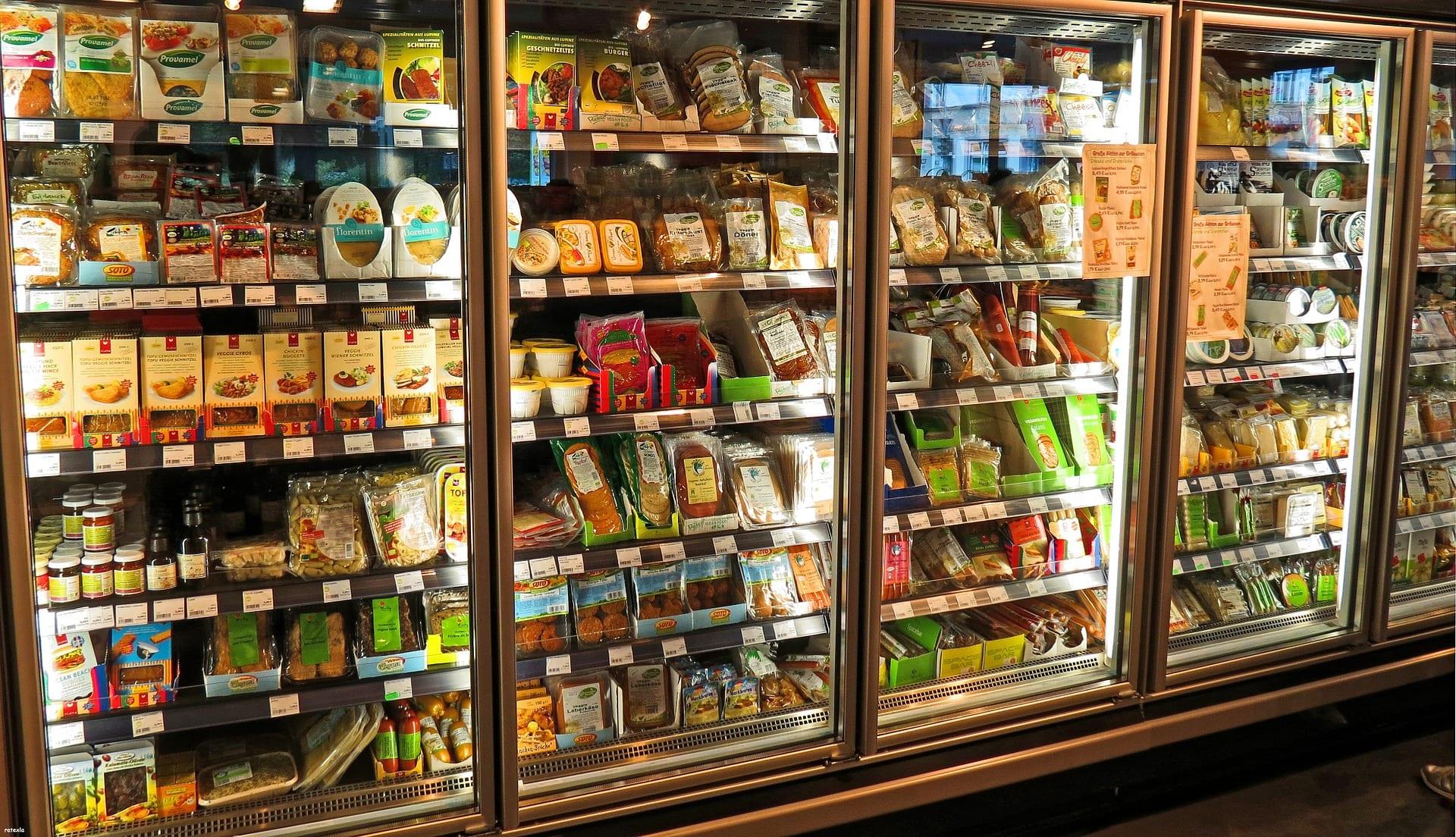Supermarket fridge